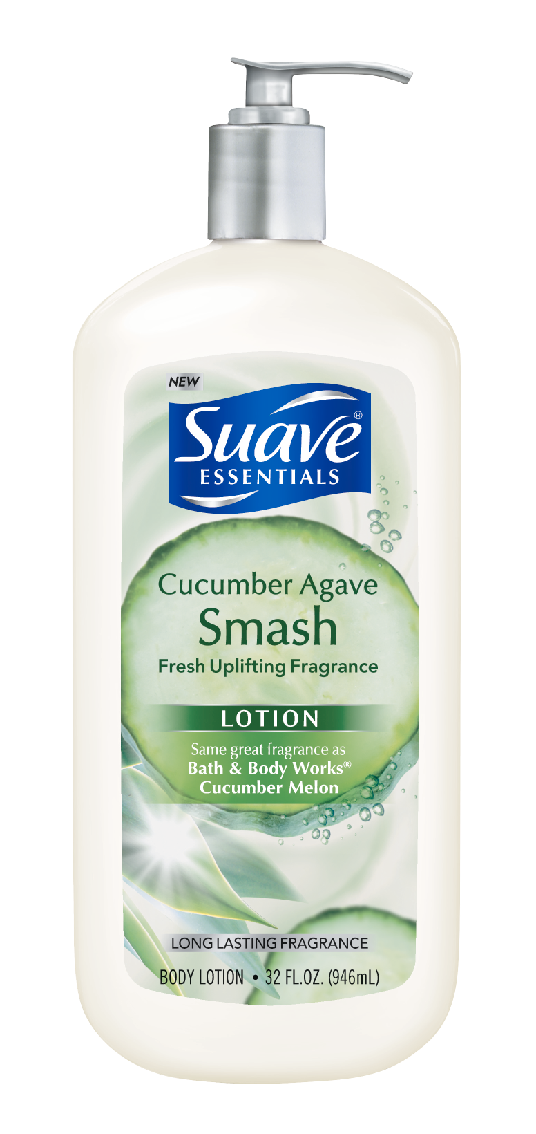 Essentials Body Lotion, Cucumber Agave Smash