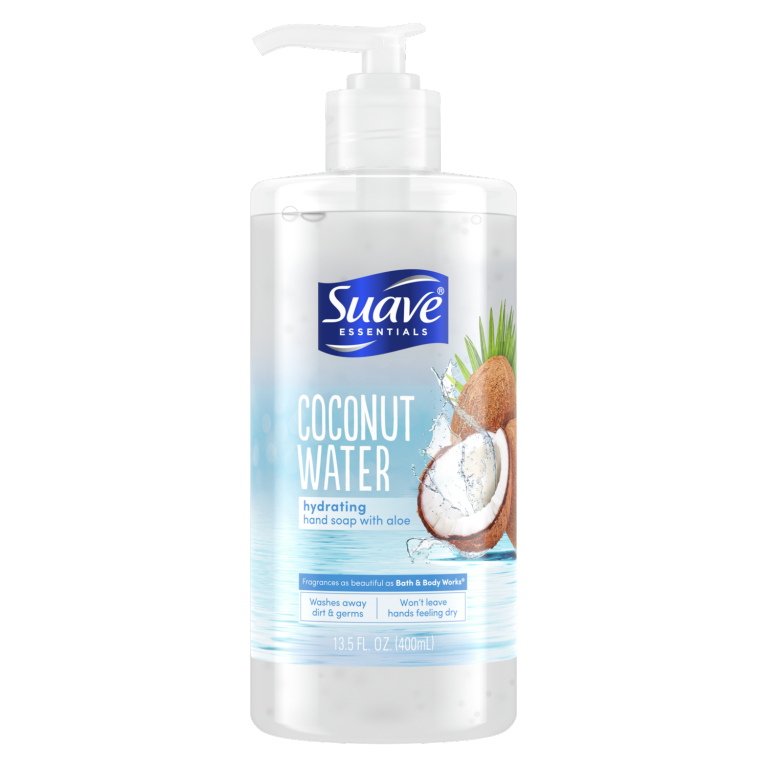 Suave COCONUT WATER HAND WASH 13.5oz.