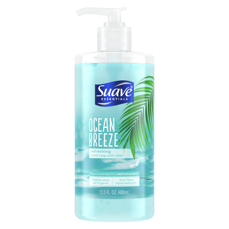 Ocean Breeze Liquid Hand Wash Front of Pack