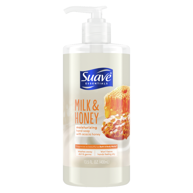 Suave Hand Soap Milk & Honey 12 FO