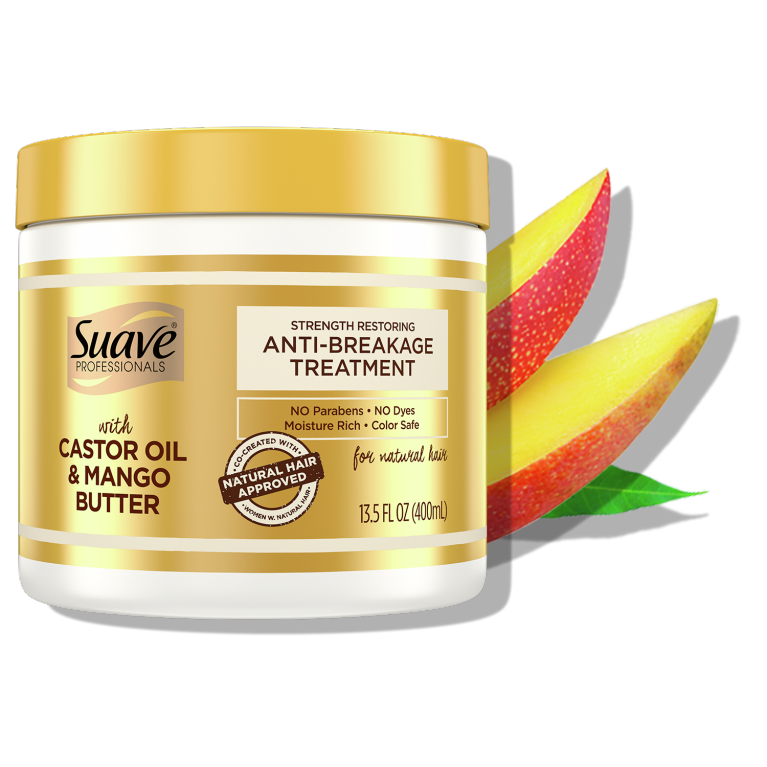 Suave Hasina Castor  Oil & Mango Butter Anti Breakage Treatment