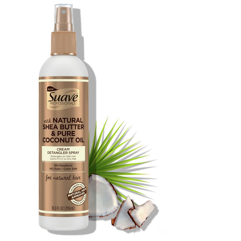 Suave Hasina Cream Detangler Spray 10FL