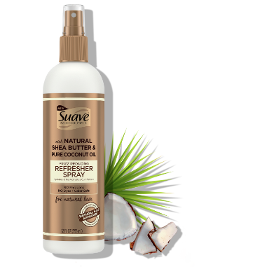 [Suave Professionals for Natural Hair Curl Refresher Spray 12oz]