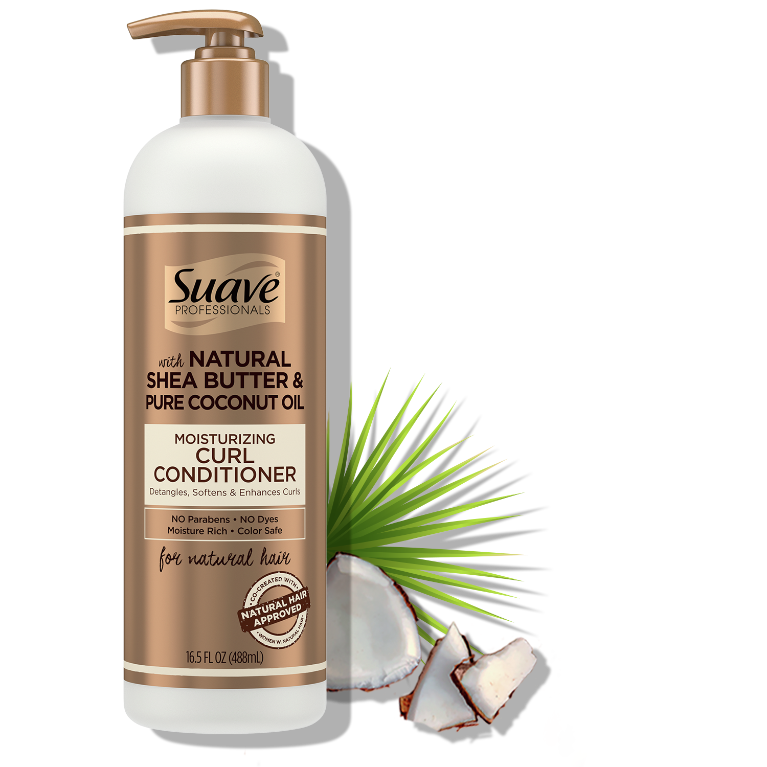 Suave Hasina Moisturizing Curl Conditioner 16.5FL