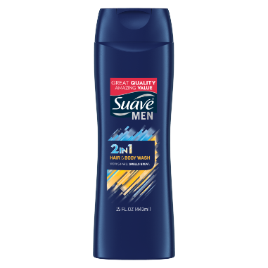 [2-in-1 Hair + Body Wash 15oz]