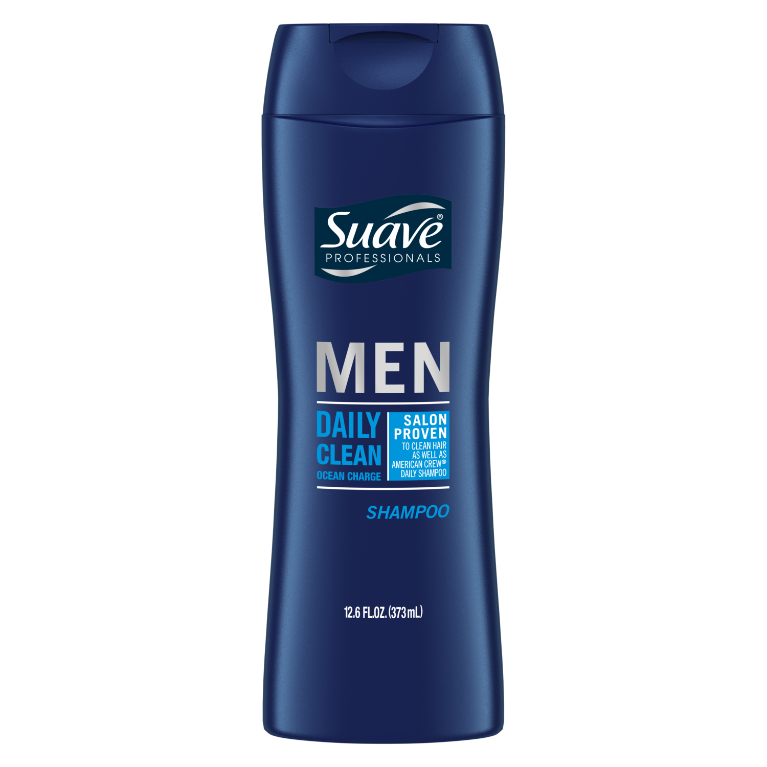 Suave Men Daily Clean Ocean Charge Shampoo 12.6oz