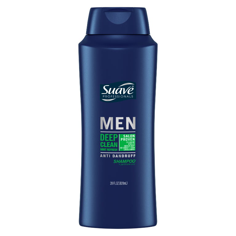 Suave Men Deep Clean Mint Refresh Anti Dandruff 28oz