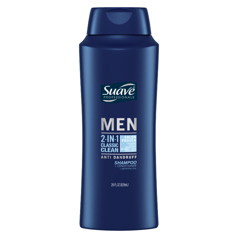 Suave Men Classic Clean Anti Dandruff 2 in 1 28oz
