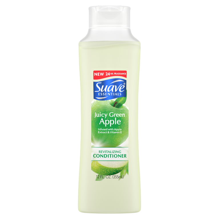Suave Essentials Conditioner Juicy Green Apple 12 oz