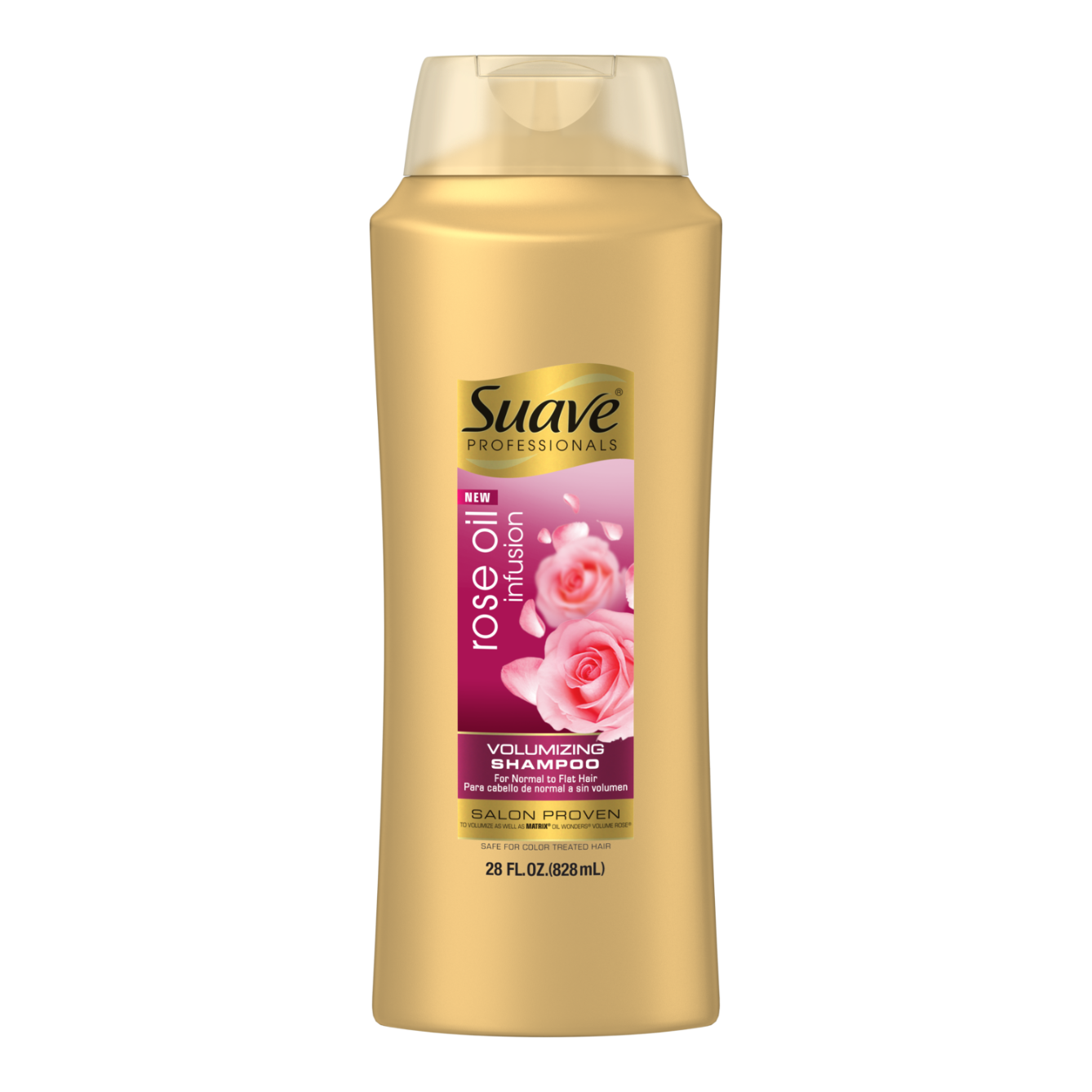Rose Oil Infusion Volumizing Shampoo Suave Professionals 174