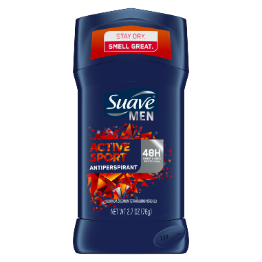 [Men's Active Sport Antiperspirant Deodorant 2.7oz]