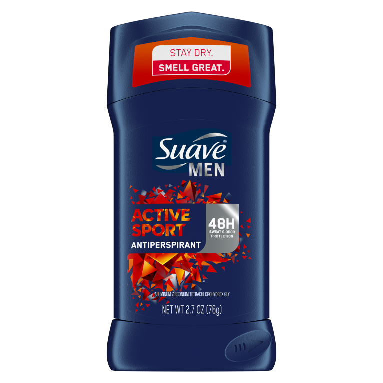 Suave Men Active Sport Antiperspirant 2.7 oz