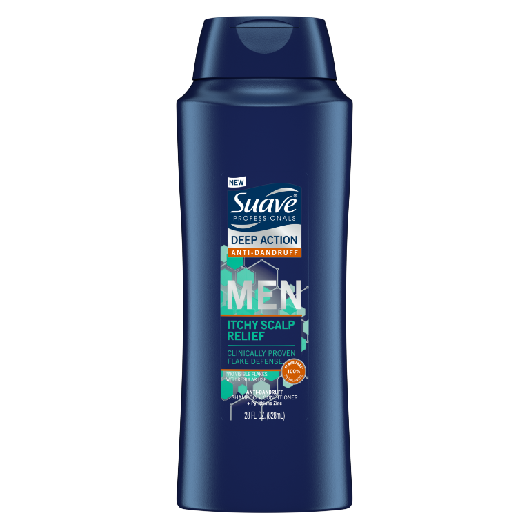 Suave Men Shampoo Itchy Scalp Relief 28 FO