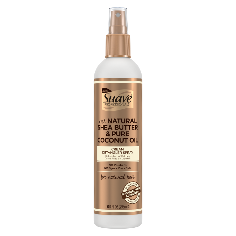 Suave Cream Detangler Spray Shea Burtter & Coconut Oil 10 oz