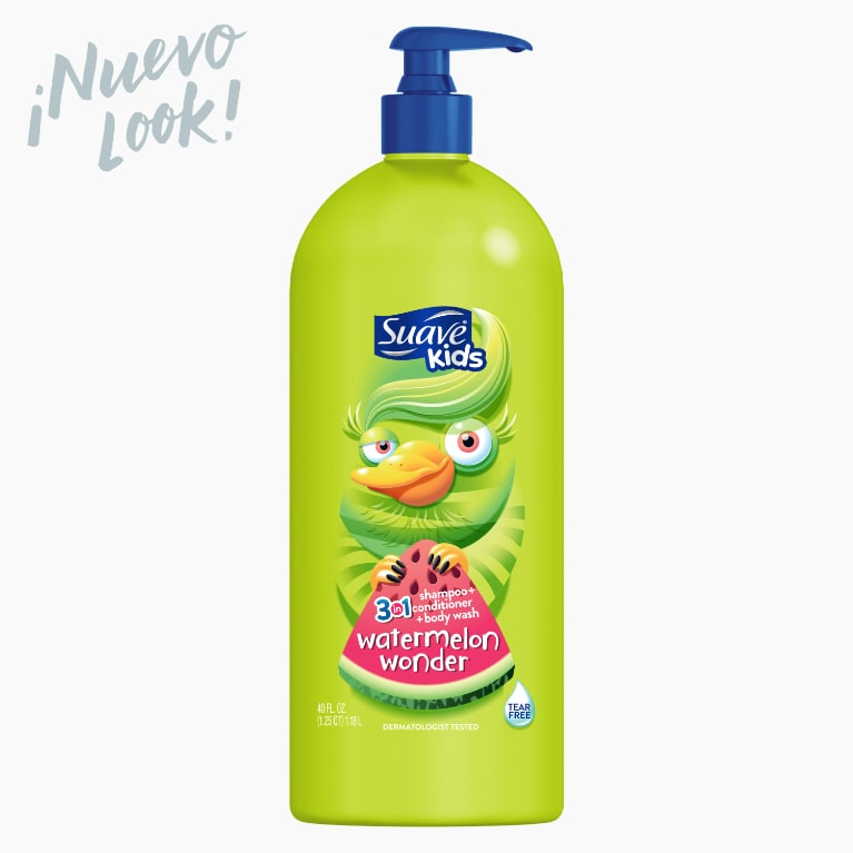 Suave Kids Watermelon 3-in-1 Shampoo