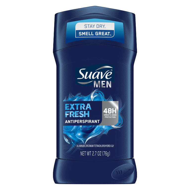 Suave Solid Antiperspirant Men Extra Fresh 2.7 OZ