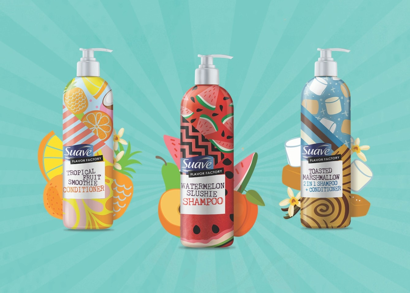 Suave Flavor Factory Collection