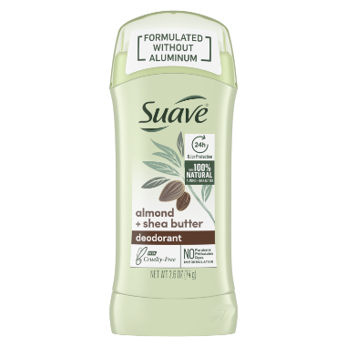 [Almond & Shea Butter Formulated without Aluminum Invisible Solid 2.60z]