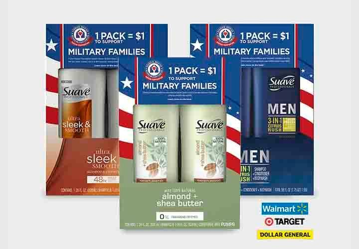 Suave Veterans Day Family Pack