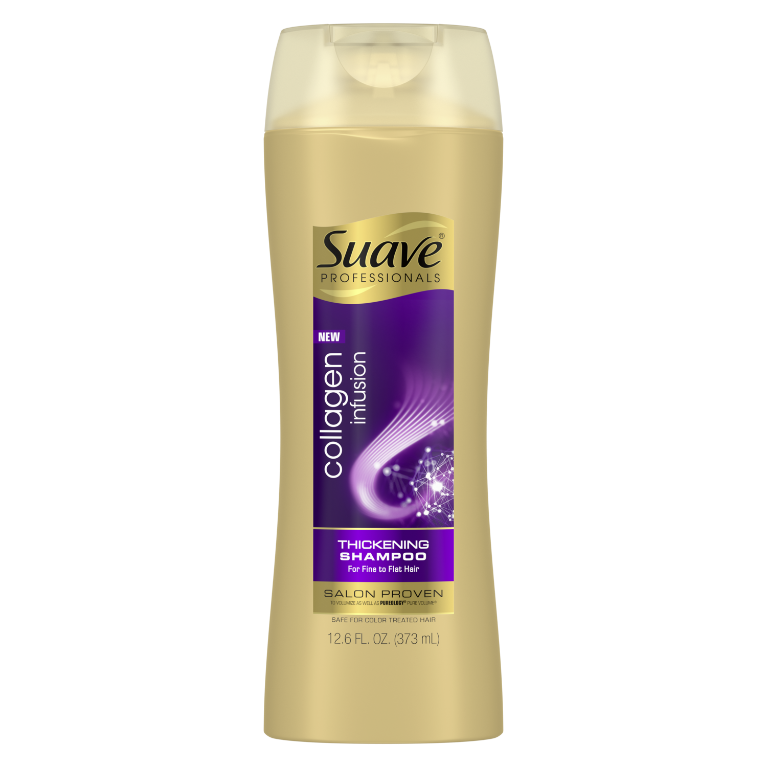 Suave Professionals Collagen Infusion Shampoo 12.6oz