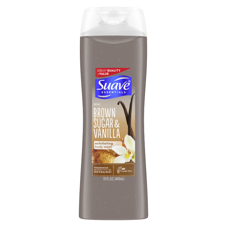 Suave Body Wash Sugar + VANLLA 15 OZ