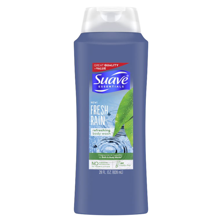 Suave Body Wash Fresh Rain 28 OZ