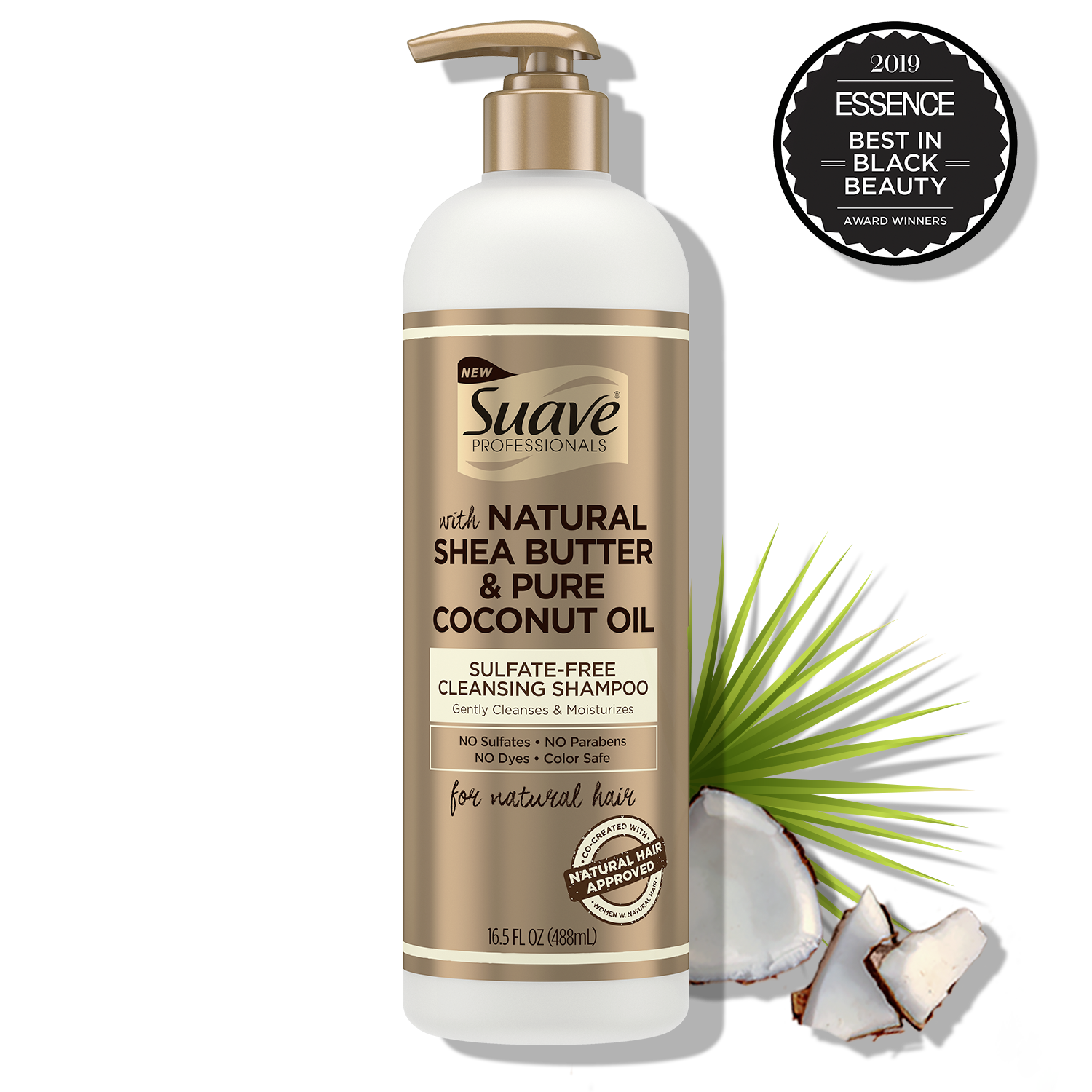 [Suave Professionals Sulfate-free Cleansing Shampoo 16.5oz]